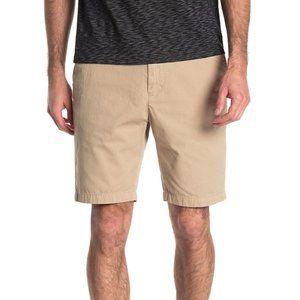 John Varvatos USA BNWT khaki Jean shorts sz 33